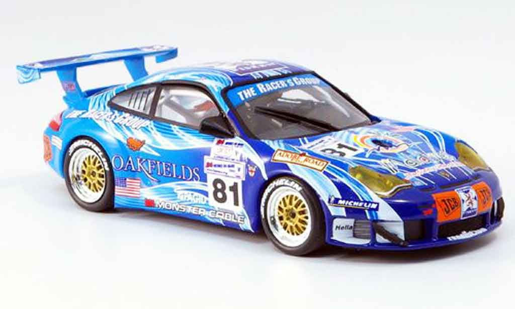 Porsche 996 GT3 RS 1/43 Minichamps LeMans 2004 diecast model cars