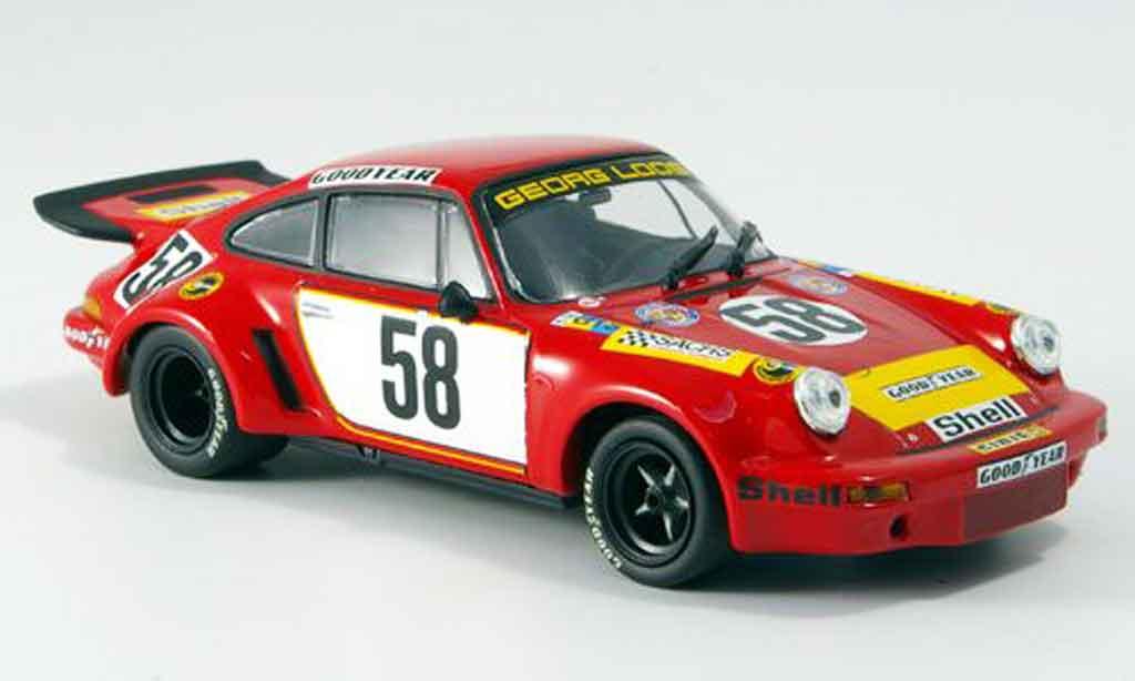 Porsche 930 RSR 1/43 Minichamps Carrera 1975 miniature