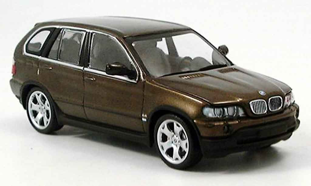 Bmw X5 E53 1/43 Minichamps grun 1999 miniature