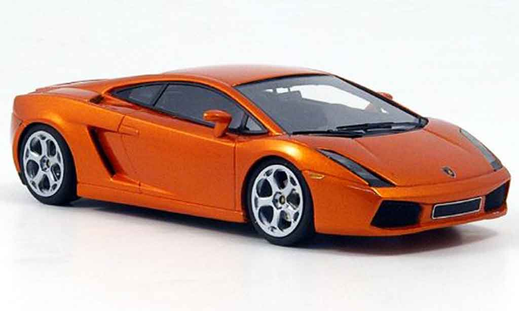 Lamborghini Gallardo 1/43 Look Smart kupfer noirees interieur miniature