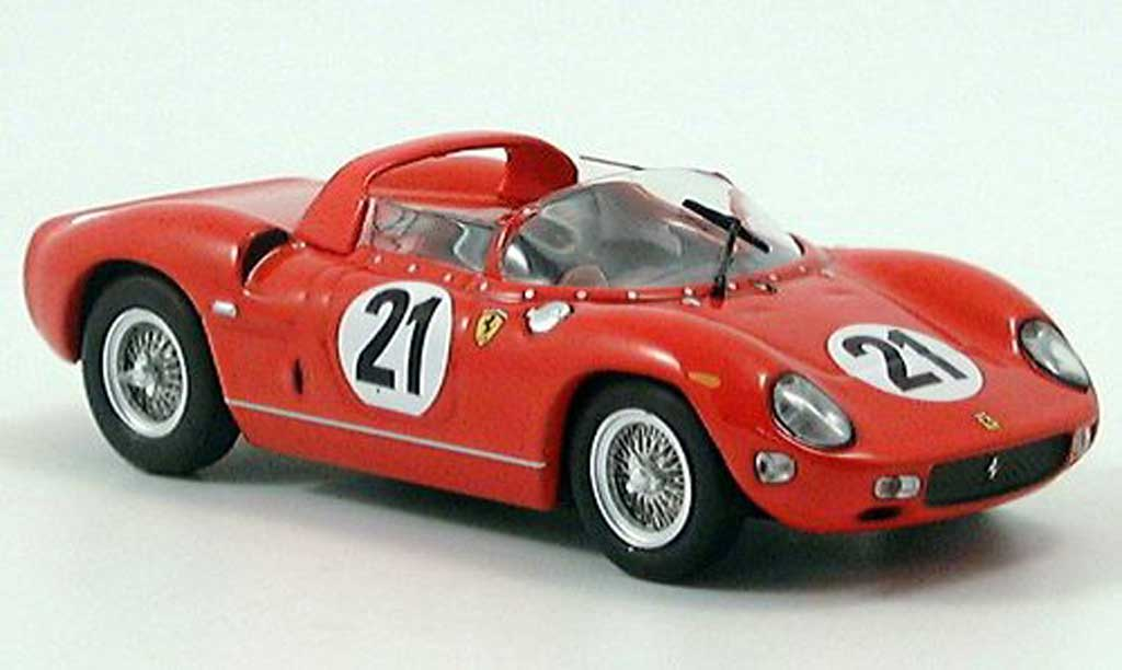 Ferrari 250 P 1/43 IXO Sieger LeMans Scarfiotti-bandini miniature
