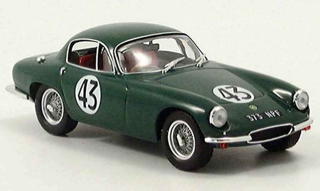 Lotus Elite 1/43 IXO no. 43 lemans baillie parkes miniature