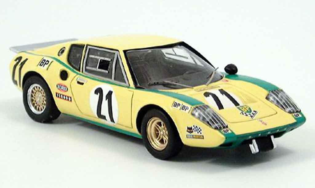Ligier JS2 1/43 Spark LeMans No. 21 Francois 1972 diecast model cars