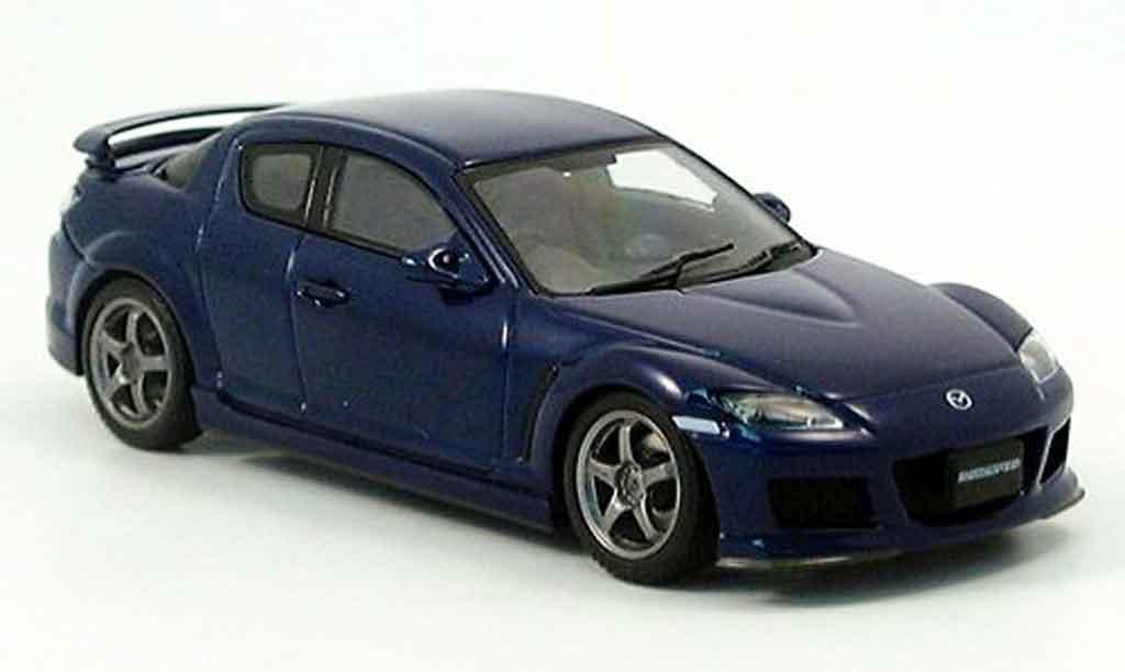 Mazda RX8 1/43 Autoart Speed RX 8 bleu 2005 miniature