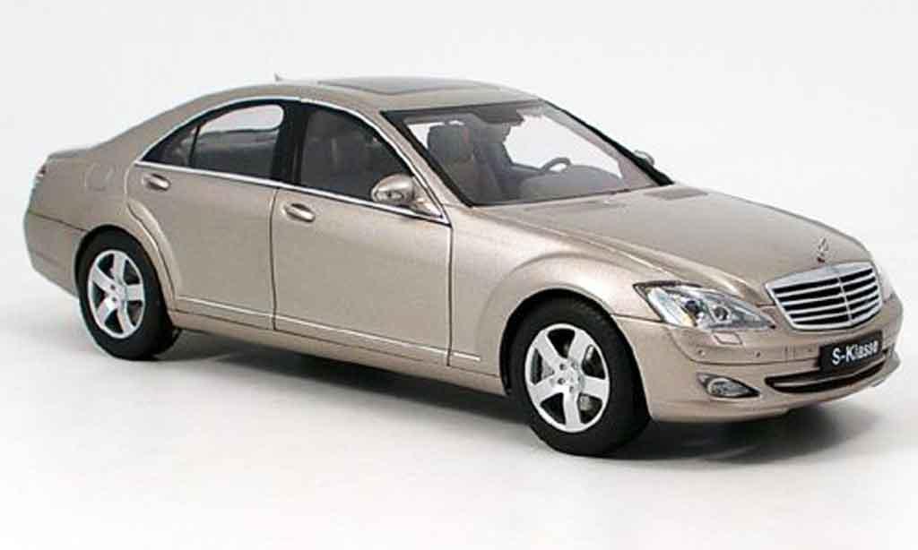 Mercedes Classe S 500 1/18 Autoart lwb miniature