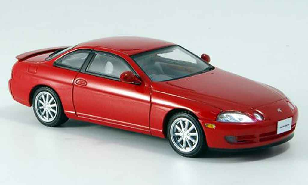 Toyota Soarer 1/43 Kyosho 2.5gt twin turbo l rouge 1991 miniature