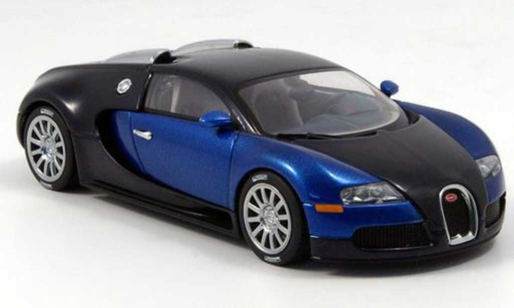 bugatti veyron 16 4 miniature eb 2005 autoart 1 43 voiture. Black Bedroom Furniture Sets. Home Design Ideas
