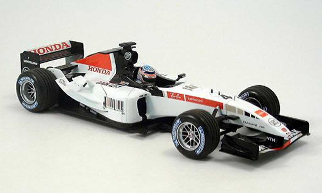 Honda F1 1/18 Minichamps bar 007 t.sato showcar 2005 miniature