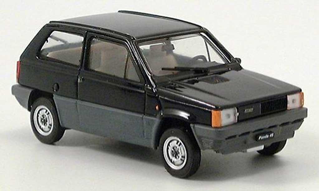 fiat panda 45 schwarz 1980 brumm modellauto 1 43 kaufen verkauf modellauto online. Black Bedroom Furniture Sets. Home Design Ideas