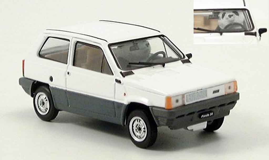 Fiat Panda 1/43 Brumm 30 on Board 1980 miniature