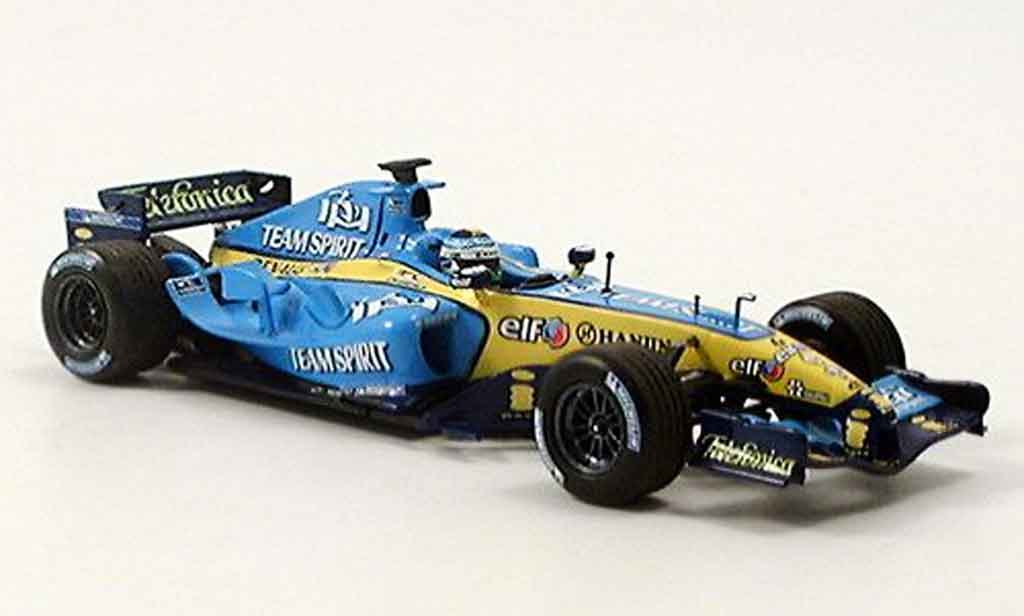 renault f1 miniature f1 r25 fisica 2005 minichamps 1 43. Black Bedroom Furniture Sets. Home Design Ideas