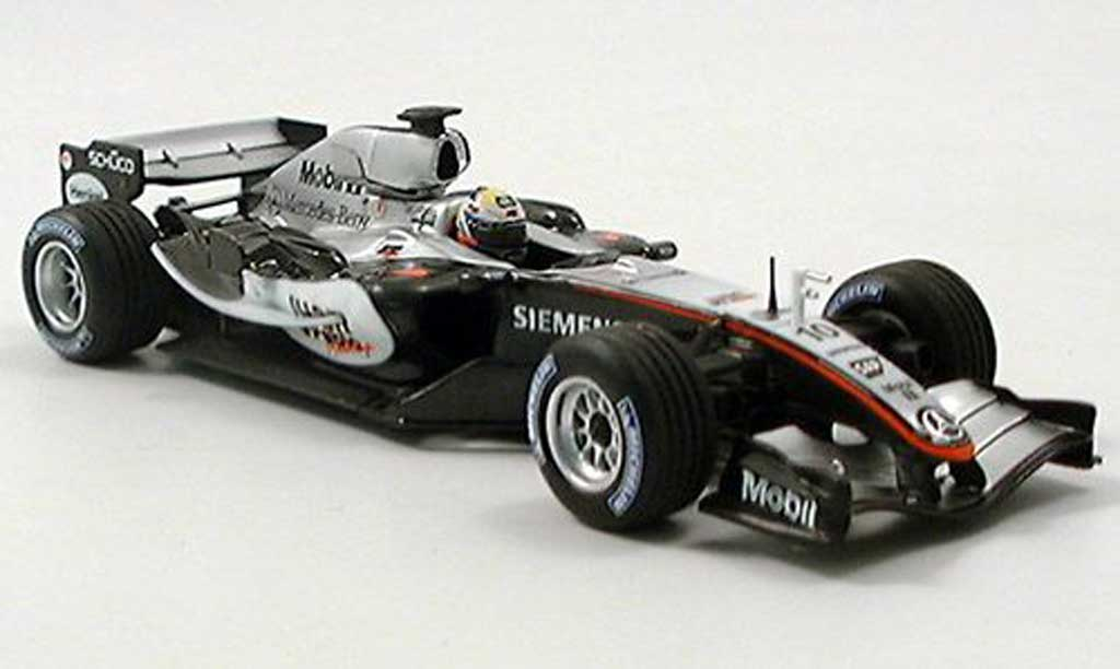 mercedes f1 2005 mclaren mp4/20 j.p.montoya minichamps diecast model