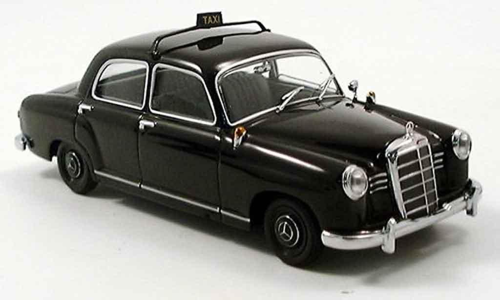 Mercedes 180 1/43 Minichamps Taxi noire 1953 miniature