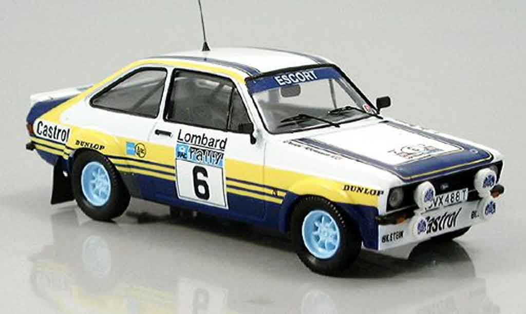 Ford Escort MK2 1/43 Trofeu RAC Rallye Vatanen Richards No. 6 1979