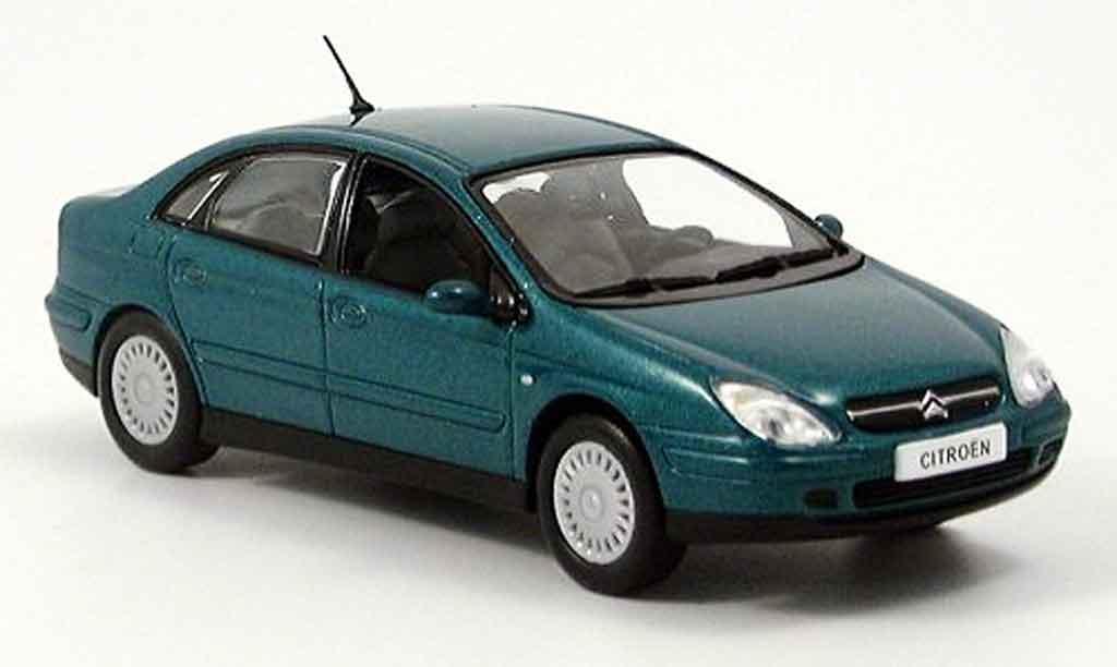 citroen c5 grun norev modellauto 1 43 kaufen verkauf modellauto online. Black Bedroom Furniture Sets. Home Design Ideas