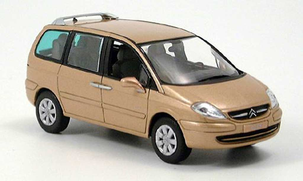 citroen c8 miniature beige norev 1 43 voiture. Black Bedroom Furniture Sets. Home Design Ideas