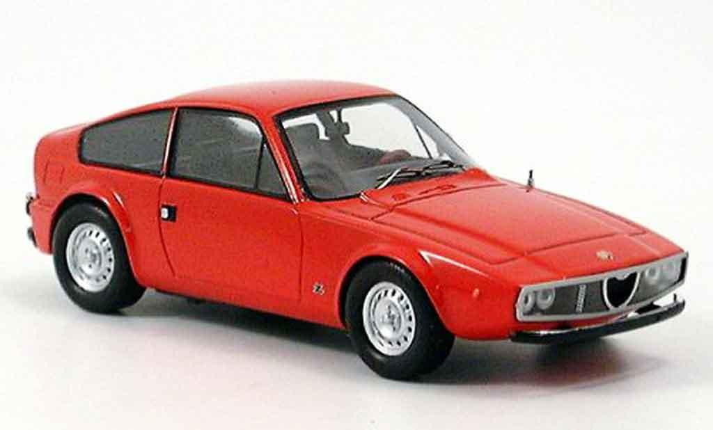 Alfa Romeo Junior Z 1/43 Spark 1300 rouge 1970 miniature