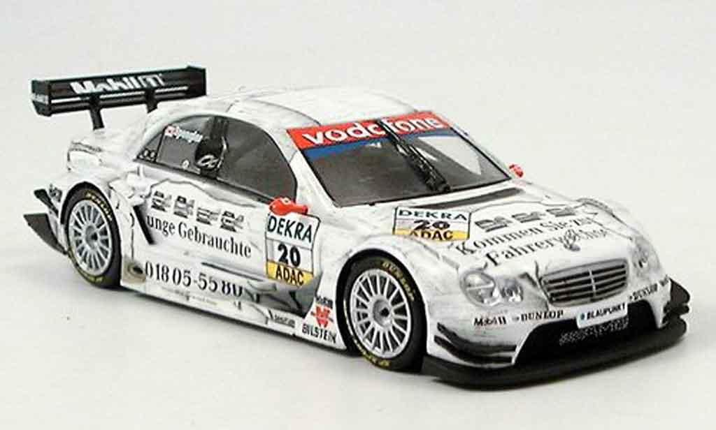 Mercedes Classe C 1/43 Minichamps Junge Gebrauchte Spengler DTM 2005 diecast model cars