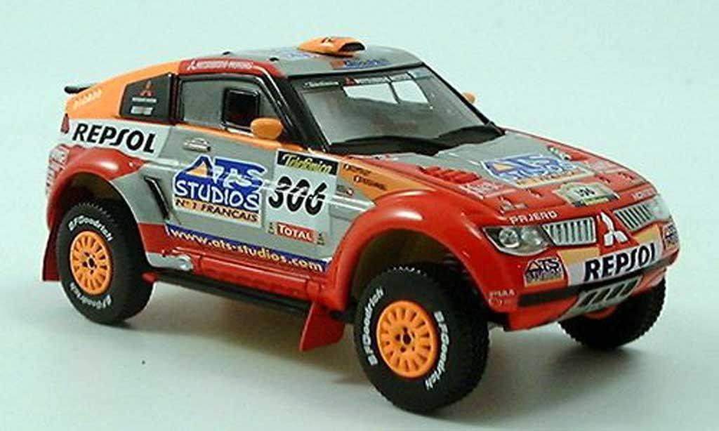 Mitsubishi Pajero 1/43 Norev Rallye 2005 miniature