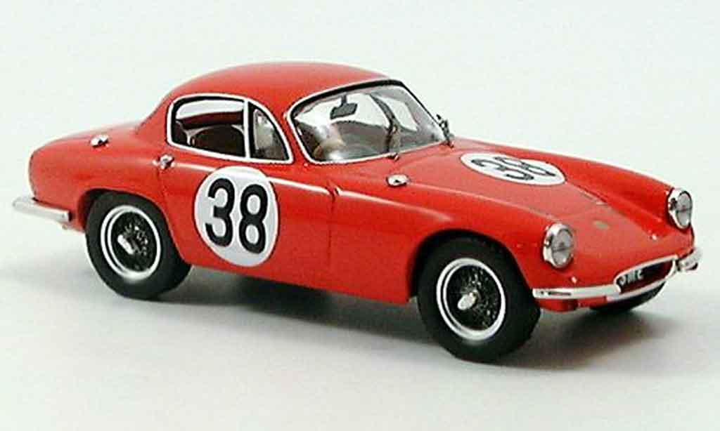 Lotus Elite 1/43 IXO no. 38 lm vidilles malle 1959 miniature