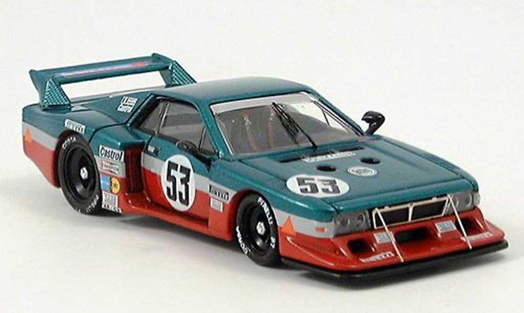 Lancia Beta Monte Carlo 1/43 Best Le MansNo.53 1980 Facetti/Finotto miniature