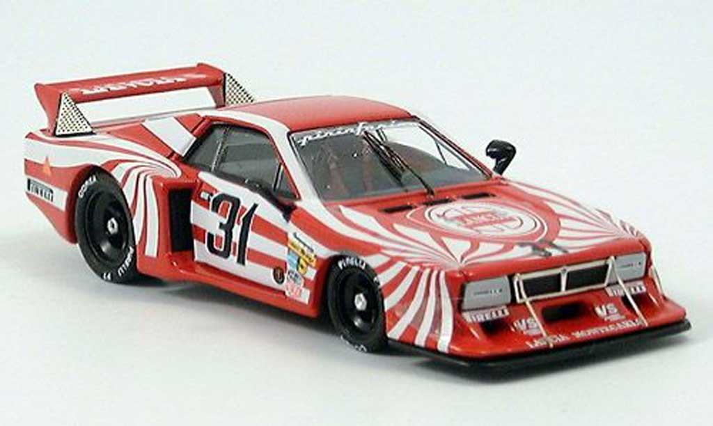 Lancia Beta Watkins Glen 1/43 Best Patrese/Heyer 1980 miniature