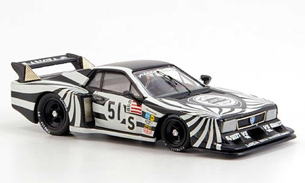 Lancia Beta Monte Carlo 1/43 Best Silverstone Patrese No.5 1979 miniature