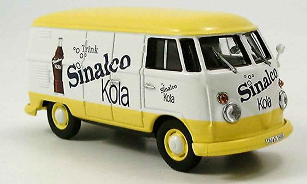 Volkswagen Combi 1/43 Minichamps kastenwagen sinalco cola 1963 miniature