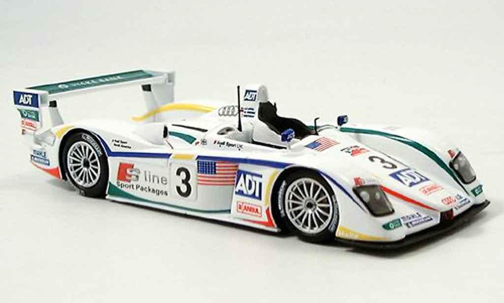 Audi R8 2005 1/43 Minichamps Sieger LM Lehto Werner Kristensen diecast