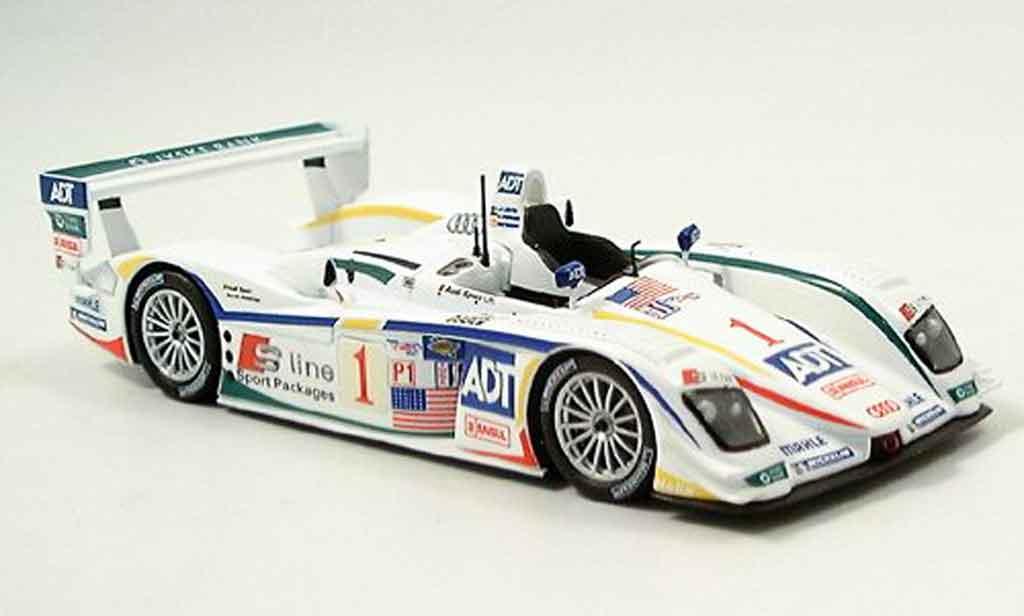 Audi R8 2005 1/43 Minichamps Sieger Sebring  Lehto Werner Kristensen diecast