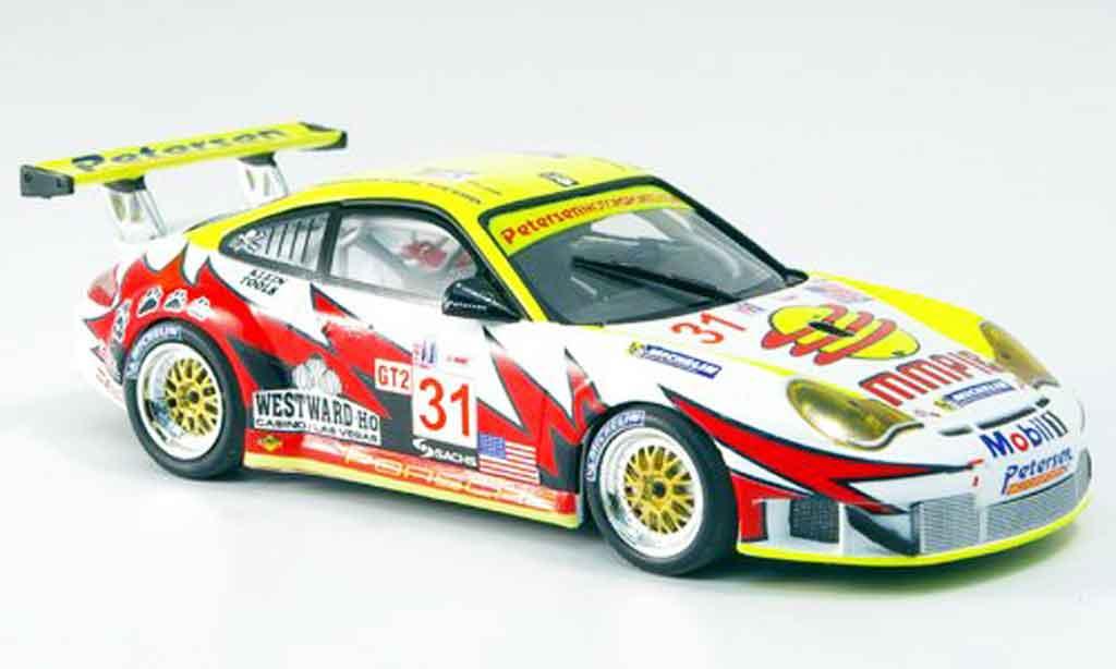 Porsche 996 GT3 RSR 1/43 Minichamps Cls.Sieger Sebring Bergmeister Long 2005 miniature