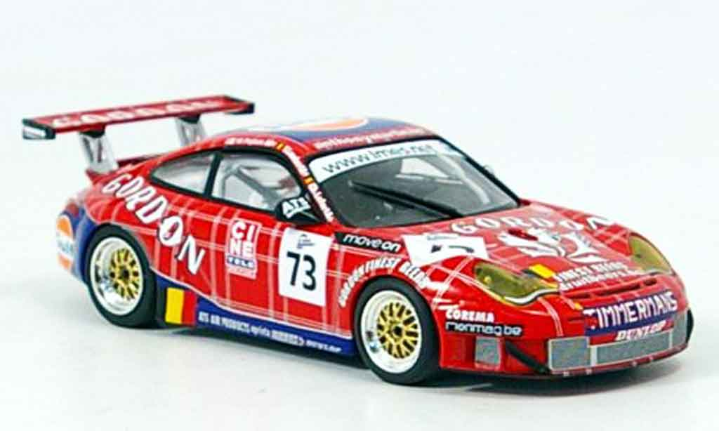 Porsche 996 GT3 RSR 1/43 Minichamps Spa Lambert Lefort Palttala 2005 miniature