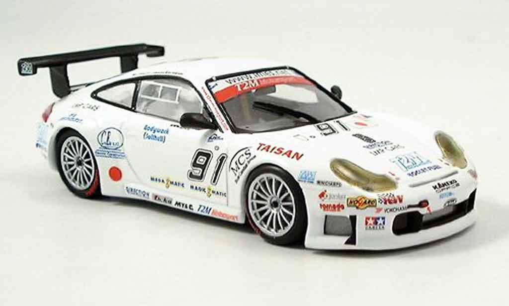 Porsche 996 GT3 RSR 1/43 Minichamps Spa Yamagishi Caffi Pompidou 2005 diecast model cars