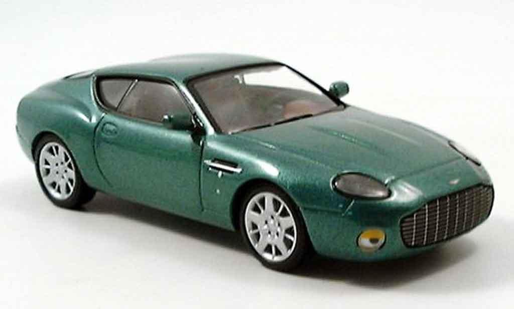 Aston Martin DB7 1/43 IXO zagato  verte 2005 miniature