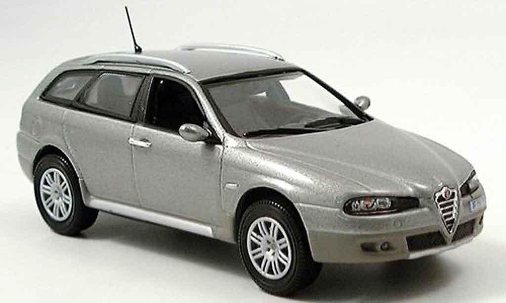 Alfa Romeo Crosswagon 1/43 Norev q4 anthrazit 2004 miniature