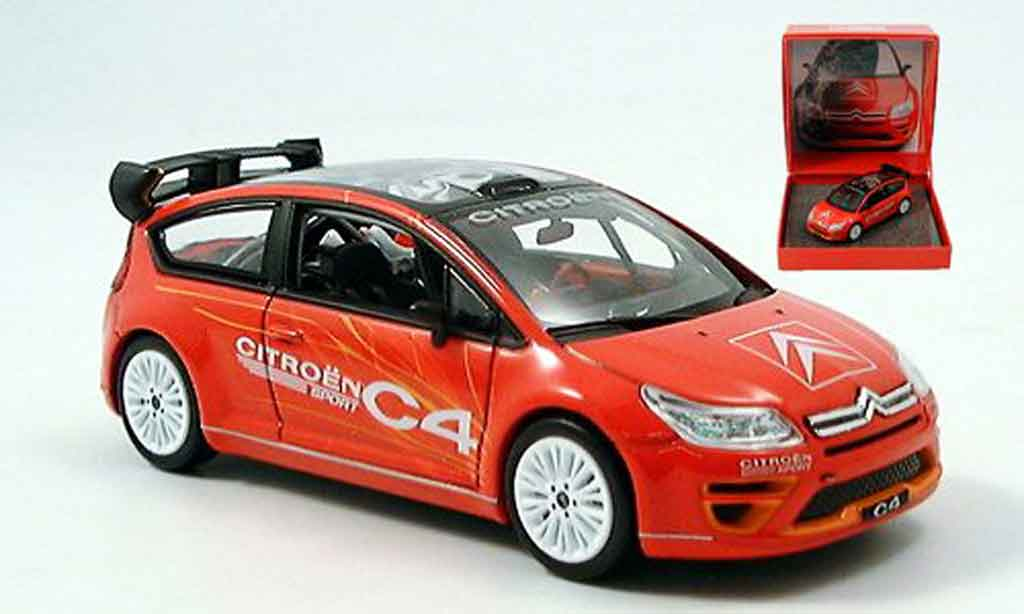 citroen c4 miniature sport 2005 norev 1 43 voiture. Black Bedroom Furniture Sets. Home Design Ideas