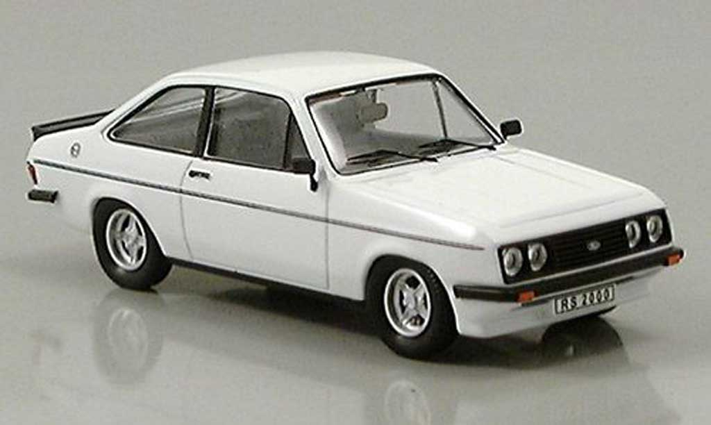 Ford Escort RS 2000 1/43 Trofeu blanche 1979 miniature