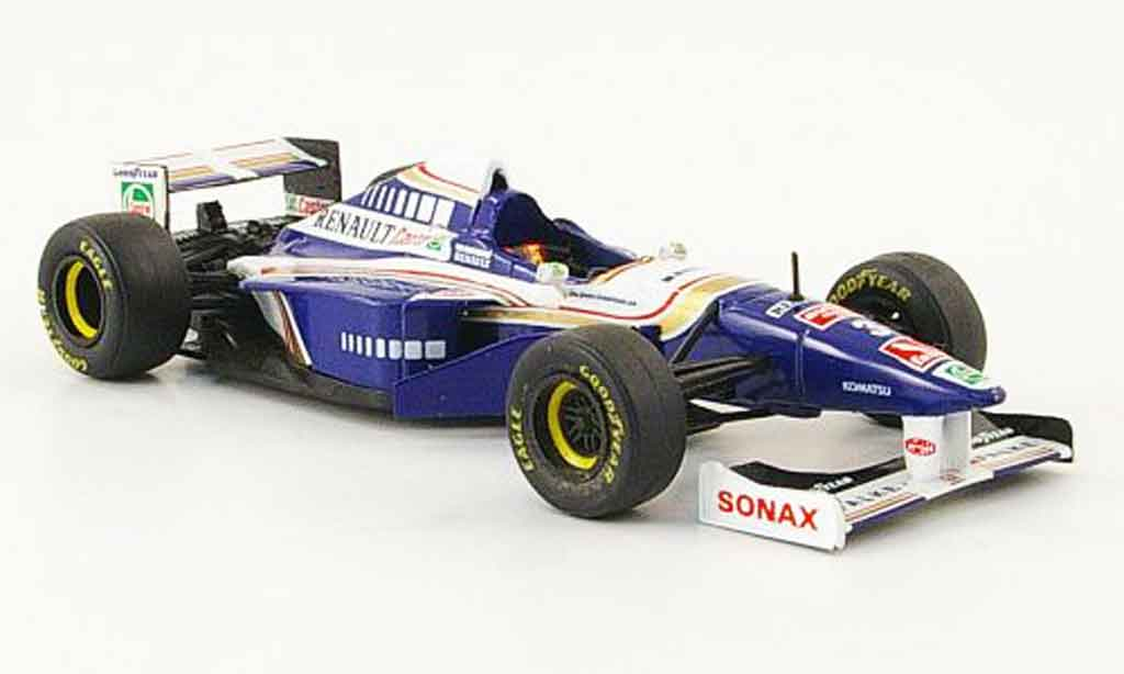 Renault F1 1/43 Onyx williams fw18 no.3 gp canada 1997 miniature
