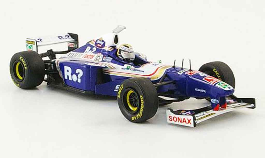 Renault F1 1/43 Onyx williams fw19 no.4 h.h.frentzen gp england 1997 miniature