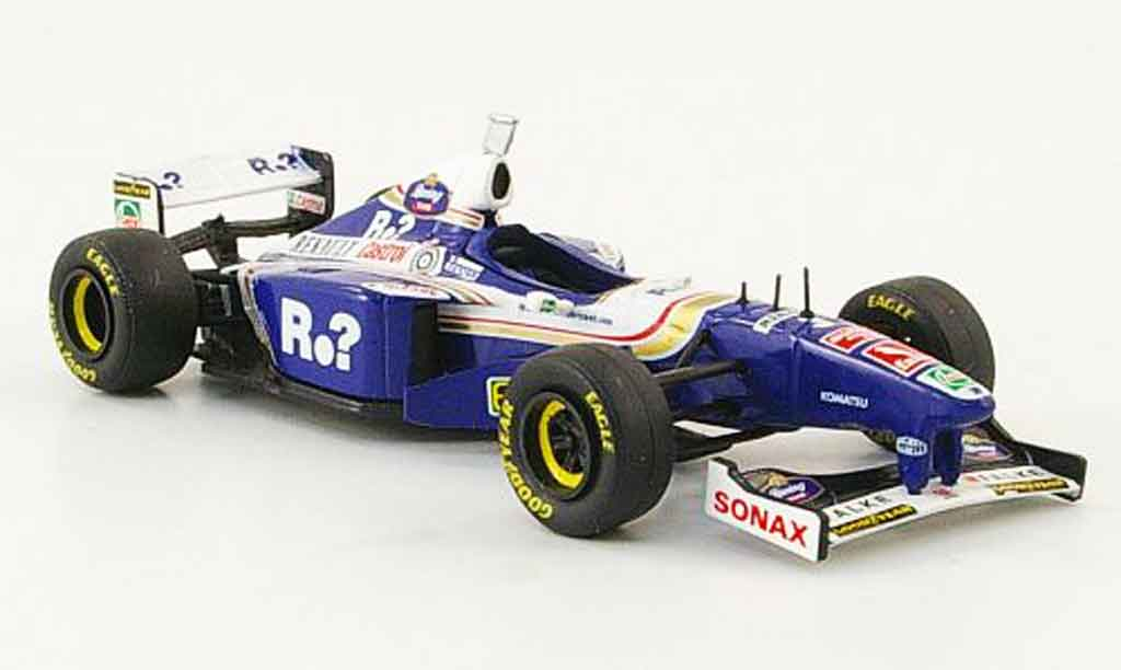 Renault F1 1/43 Onyx williams fw19 no.3 j.villeneuve gp deutschland 1997 miniature