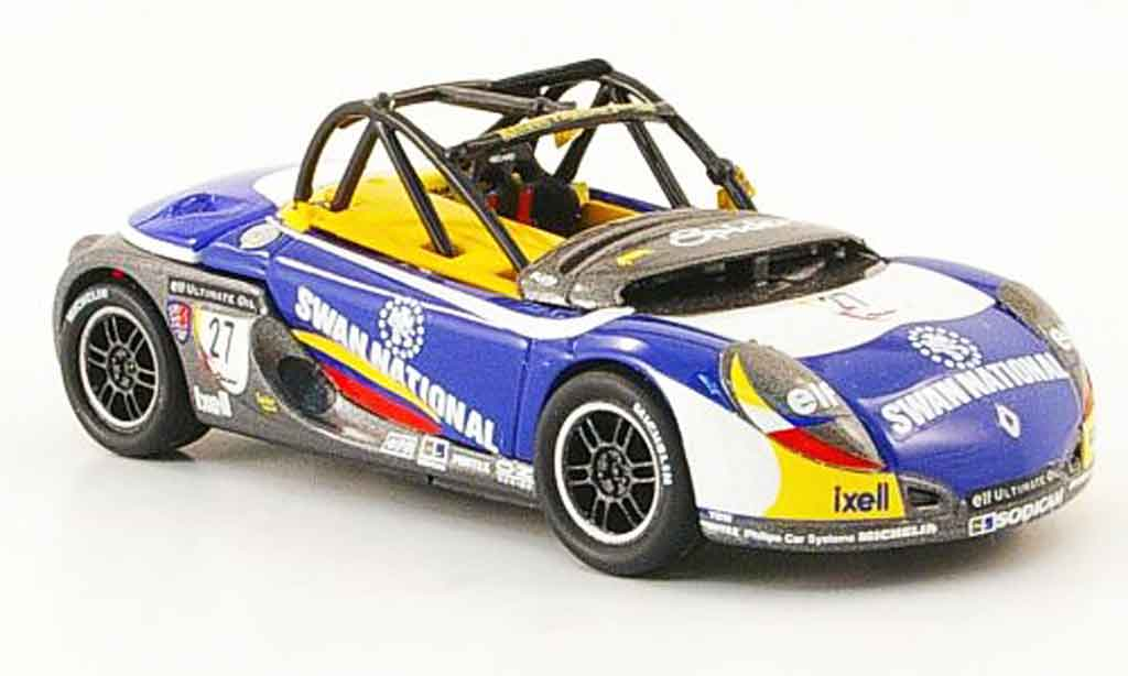 Renault Spider 1/43 Onyx no.27 swan national british spider cup 1997 miniature