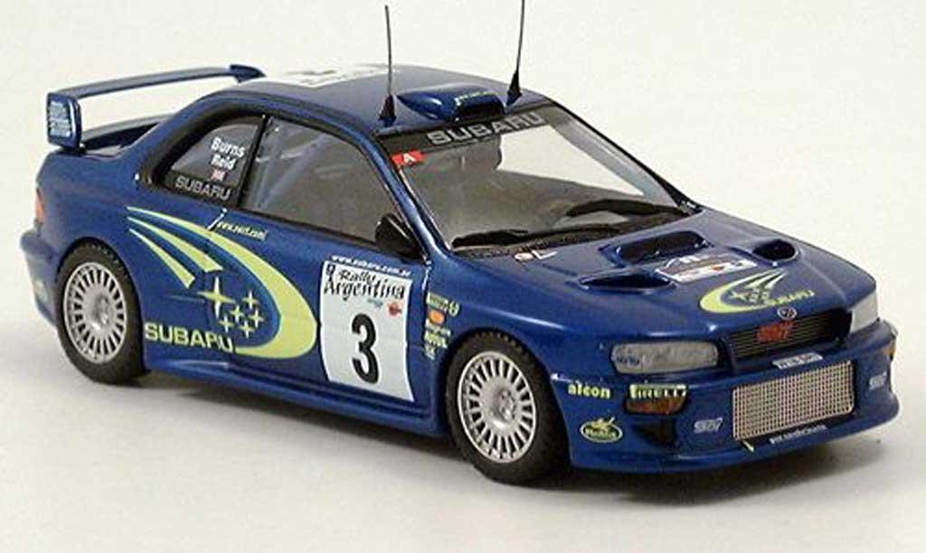 Subaru Impreza WRC 1/43 Trofeu Bruns/Reid Sieger Argentinien 2000 modellautos