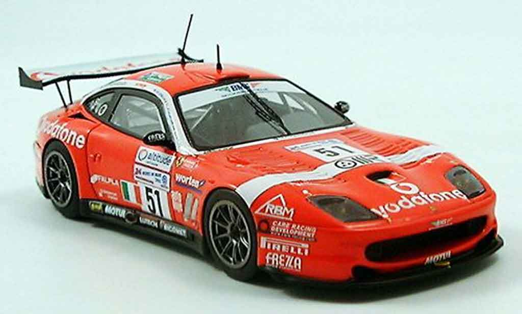 Ferrari 550 Maranello 1/43 Red Line no.51 bms le mans 2005 miniature