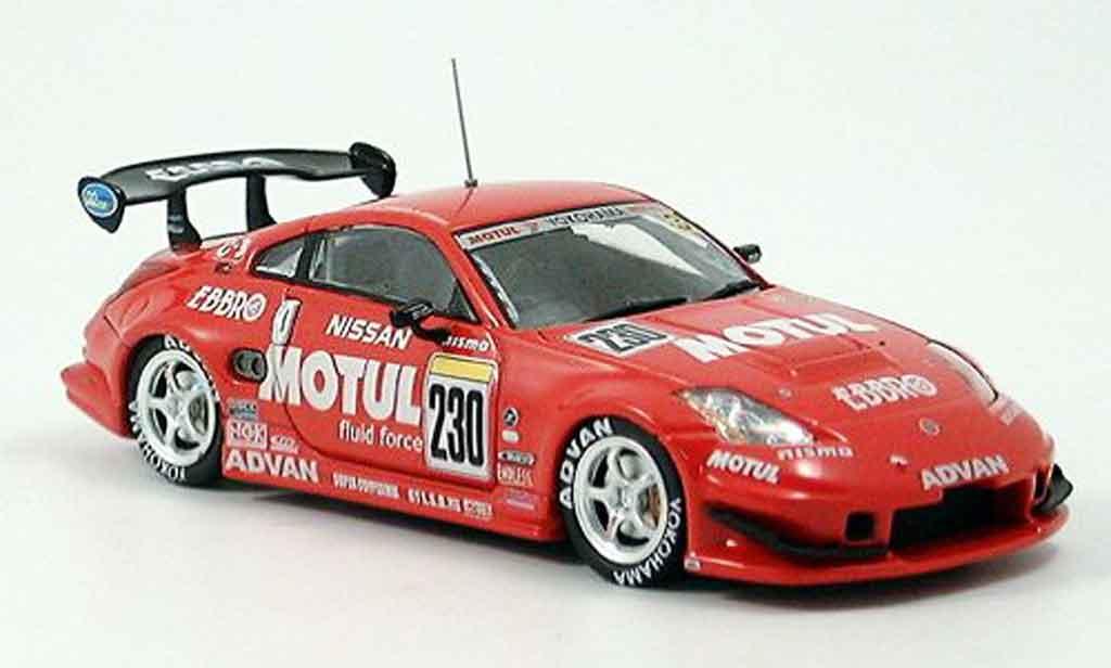 Nissan 350Z 1/43 Ebbro JGTC Z Motul No. 230 Suzuka 1000km 2004 miniature