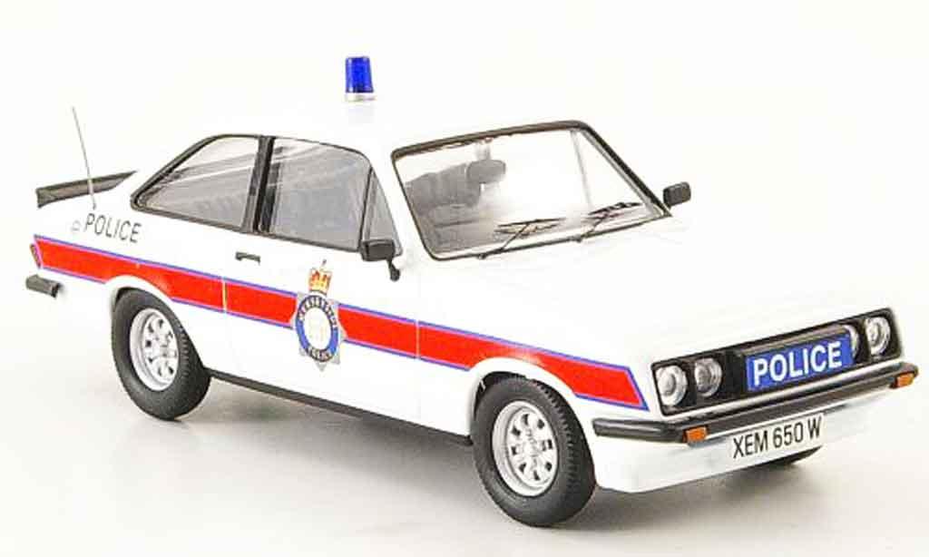 Ford Escort RS 2000 1/43 Trofeu Merseyside Police police miniature