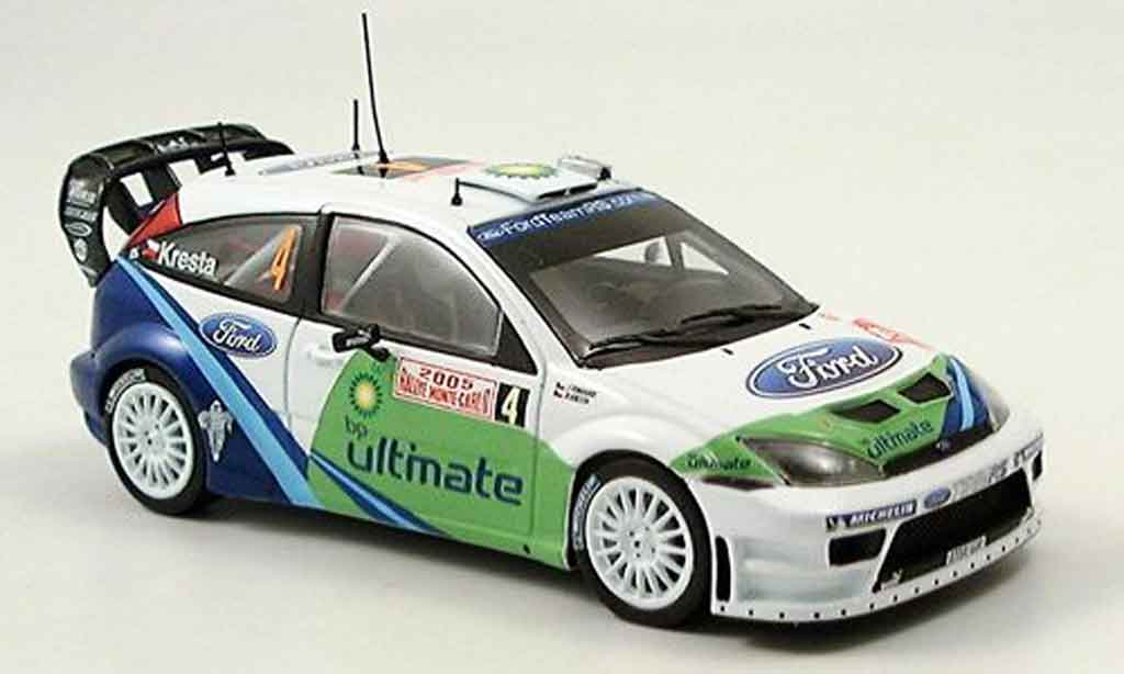 Ford Focus RS WRC 1/43 Minichamps MonteCarlo Kresta Tomanek 2005 miniature