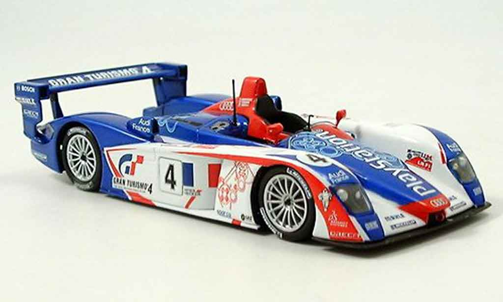 Audi R8 2005 1/43 Minichamps LM ortelli Gounon Montany 4ter