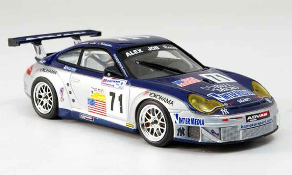 Porsche 996 GT3 RSR 1/43 Minichamps LM Hindery Rockenfeller Bernhard 2005 miniature