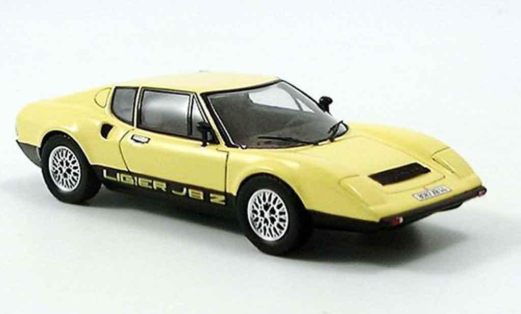 Ligier JS2 1/43 Spark jaune 1972 miniature