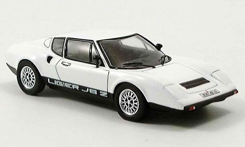 Ligier JS2 1/43 Spark blanche 1972 miniature